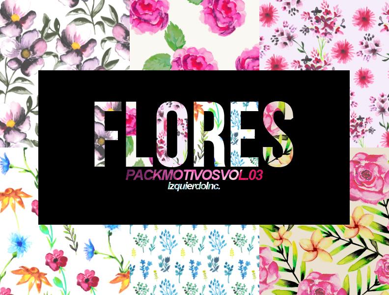 Flores Pack Motivos Vol. 03 by xPEGASVS