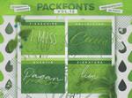 Pack Fonts Vol. 12