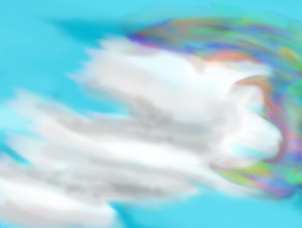 iridescent cloud by FluffyAlbinoBacon