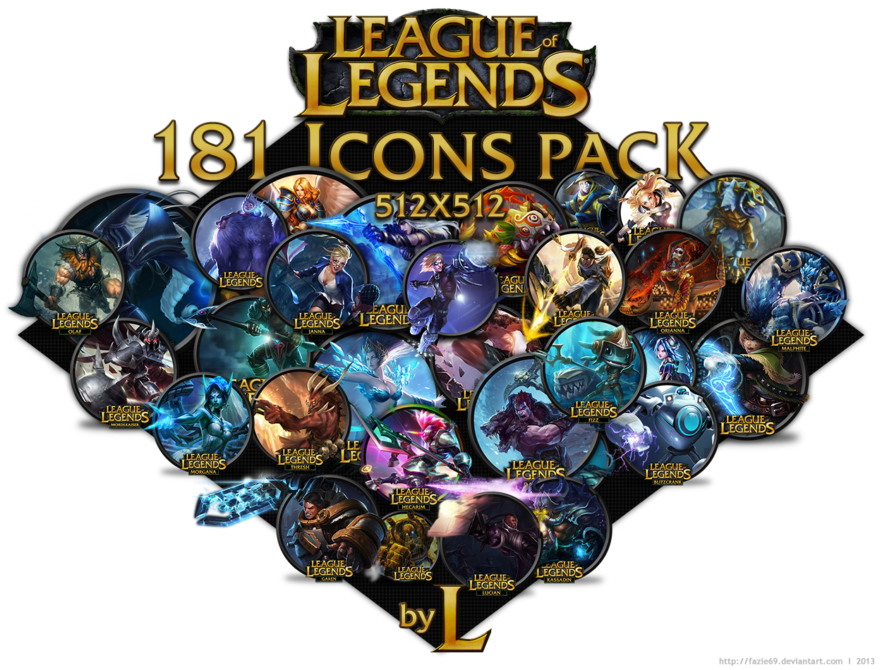 181 LoL icons by fazie69 on DeviantArt