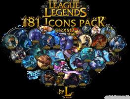 181 LoL icons
