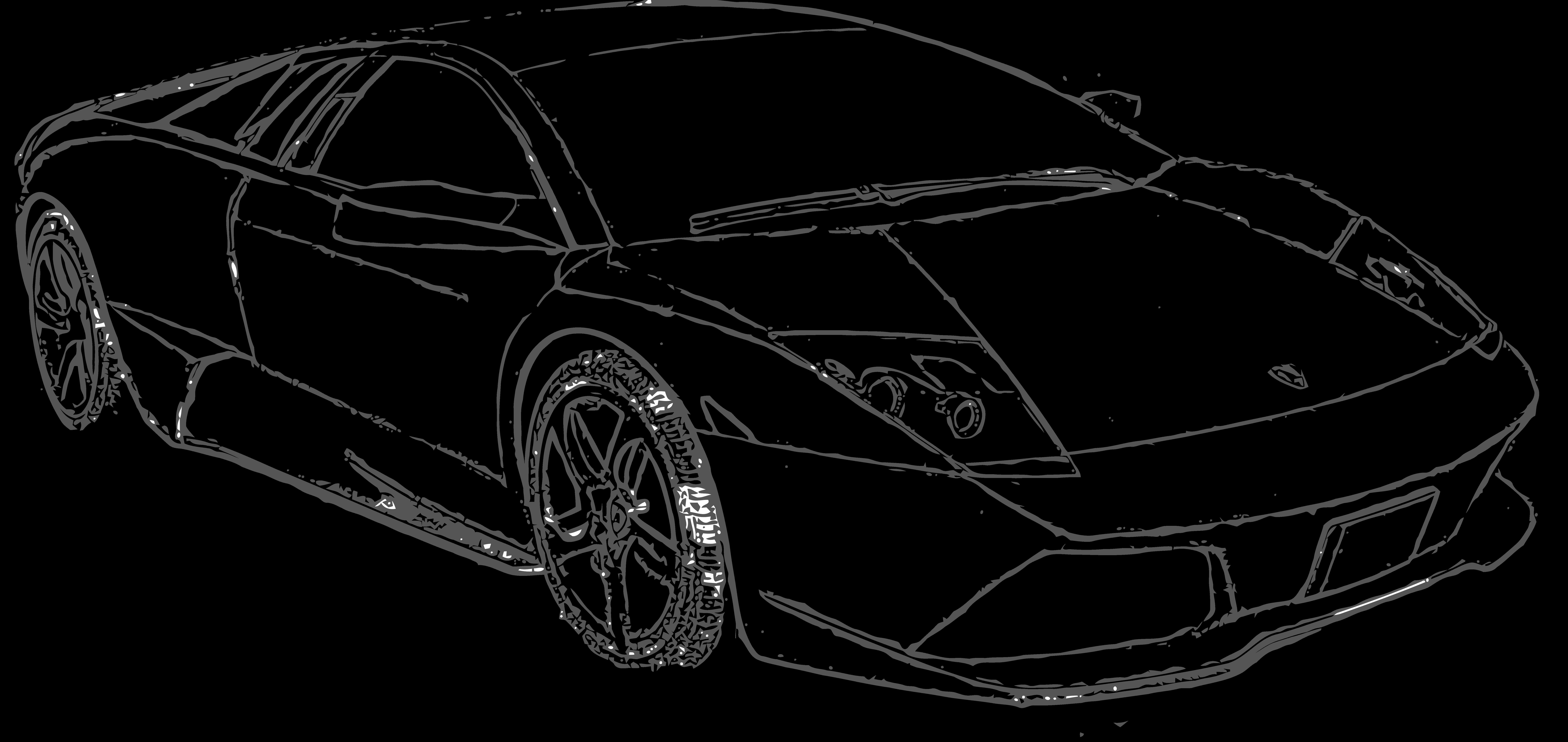 Free To Use Lamborghini Murcielago Lineart By E A 2 On