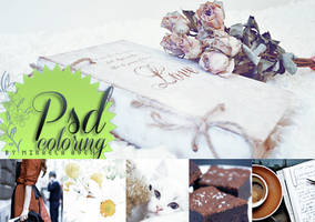 PSD coloring HD full colors + 33 by alma-mora