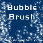 Bubble brush by monib by Kowaresou