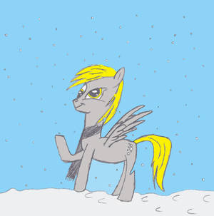 Snowtime Derpy