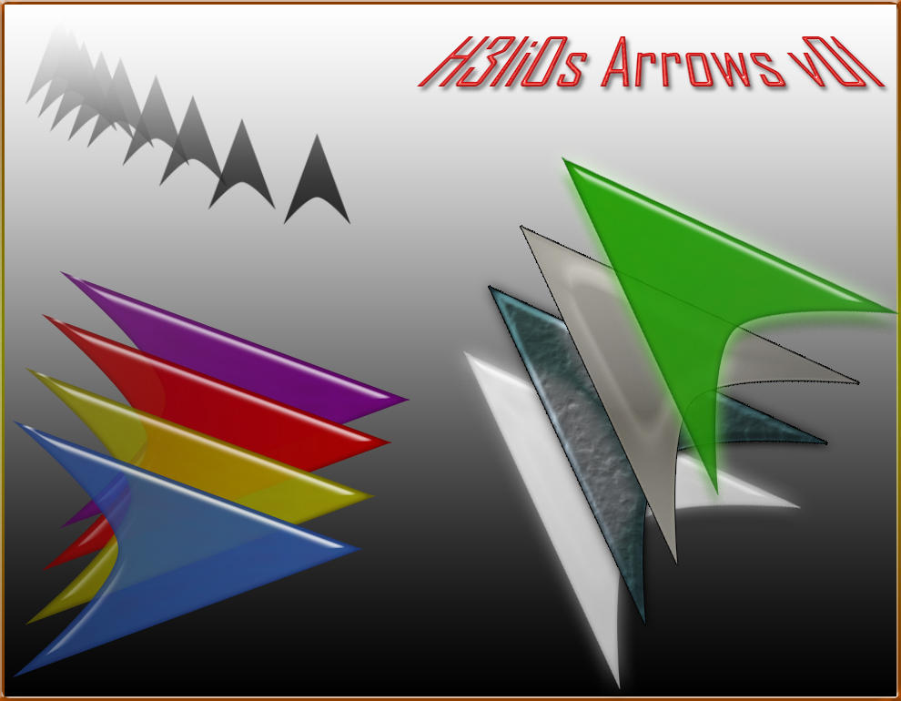 Tech Arrow - Helios Designs by arscube