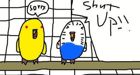 Shut up!! by Rainstar-of-LakeClan