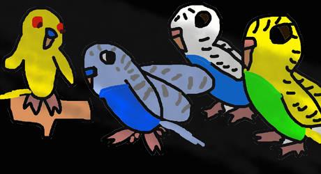 A bird's last play by Rainstar-of-LakeClan
