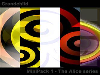 MiniPack 1 - The Alice series by Grandchild