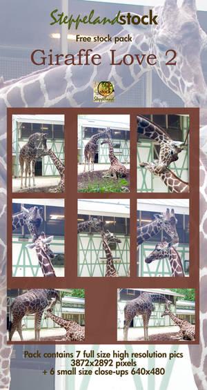 Giraffe Love - pack 2