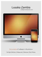 Lusaka Zambia by VanillaART