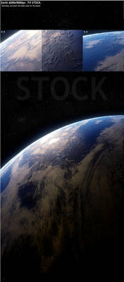 Earth 6000x9000px Stock