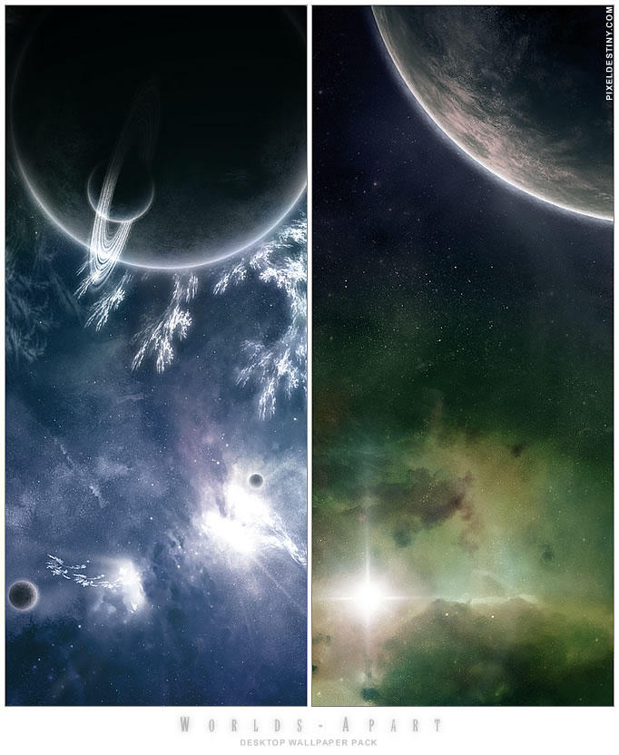 Worlds Apart - WP Pack by Hameed