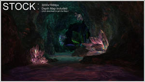 Crystal Cave STOCK