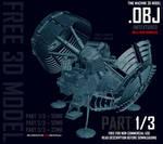 Time Machine 3D Model OBJ - 1 OF 3