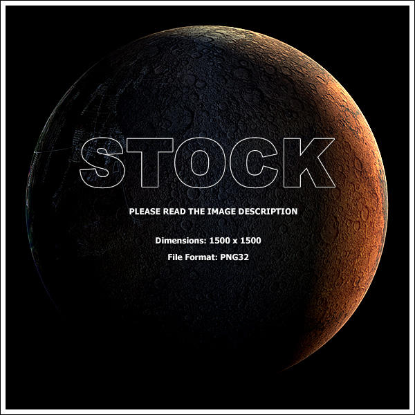 Moon Stock v2 by Hameed