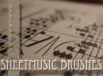Sheet Music Brushes