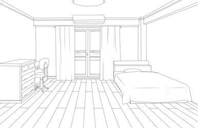 [BNHA] Free to use dorm room base