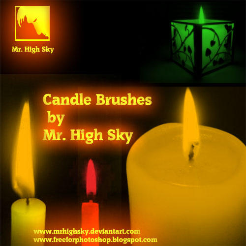 Candle Brushes by MrHighsky