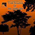 Trees Brushes