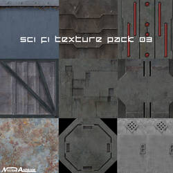 Sci fi Texure pack 03 by Milosh--Andrich