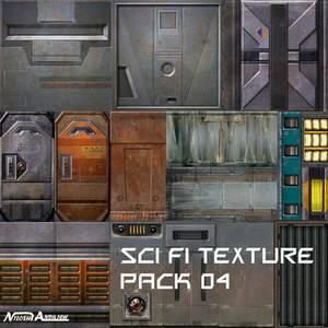 Sci fi Texure pack 04