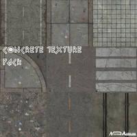 Concrete Texture pack 01 by Milosh--Andrich