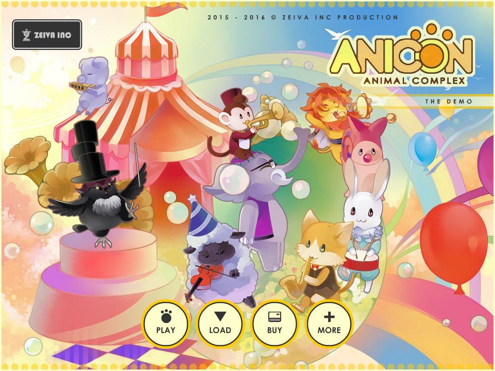 Anicon - Animal Complex Demo