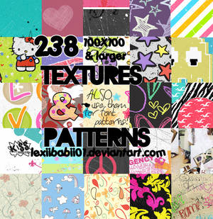 238 textures and patterns