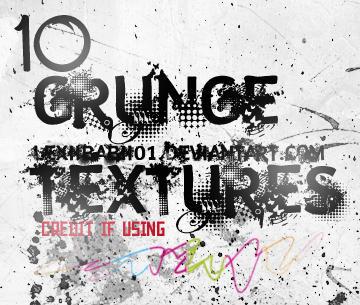 10 Grunge Textures by lexiibabii01