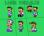 Luigi Shimeji (Super Mario World)