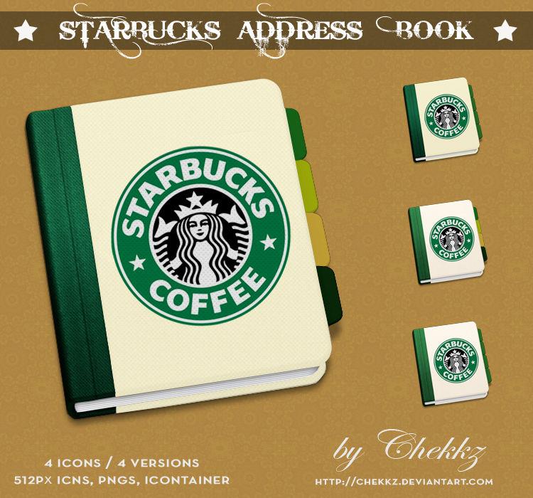 Starbucks Address Book xD