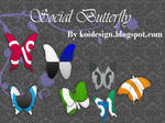 butterfly Social Bookmark icon