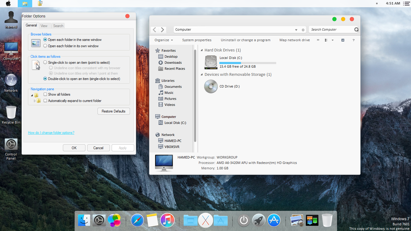 Mac OS X El Capitan theme for Win7 by hamed1987s on DeviantArt