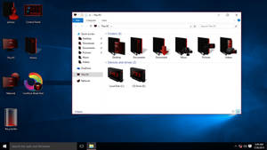 Red IconPack for Win10