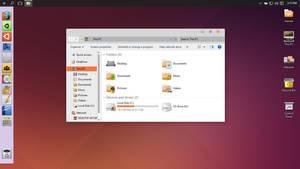 Ubuntu Light theme for Win10