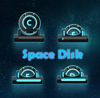 Space disk for xwidget