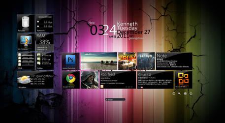 Metro UI for Xwidget(English Version)