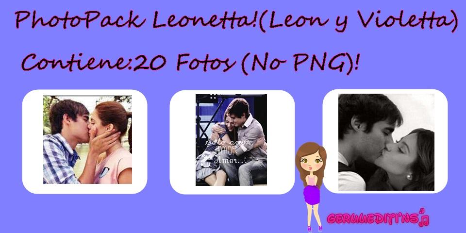 Leonetta leon y violetta photopack 20 fotos geruu by