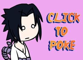 Poke Sasuke by sasukekakashi12