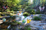 Real Bits - Pokemon Special: River in the forest