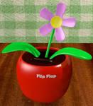 :Animation: Flip-Flap Flower 3D