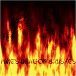Dragon GIMP Brushes