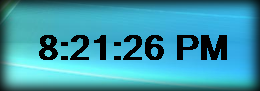 Digital Clock Widget by mikethedj4