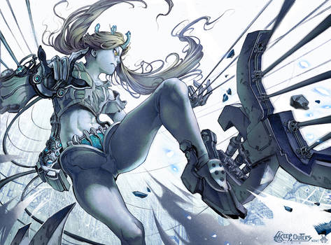 OC: Angel of Iron Thread. Project K.O