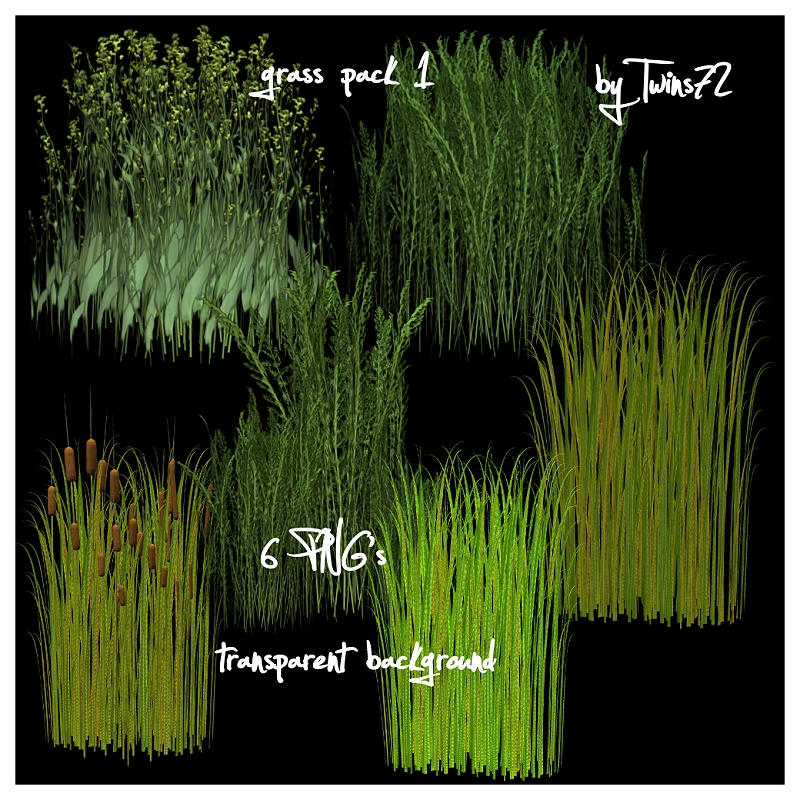 Stock Grass Pack 1 by Twins72