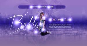 Bella Thorne Header PSD
