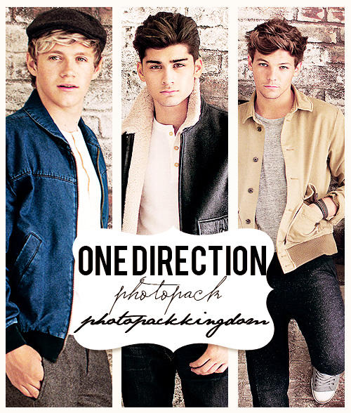 Photopack #20: One direction. by photopackkingdom