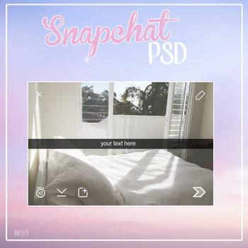 Snapchat Template PSD by daeisy