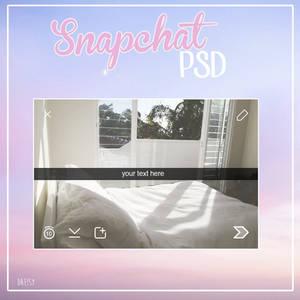 Snapchat Template PSD